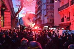 Anti-police protests spread to streets of central Paris